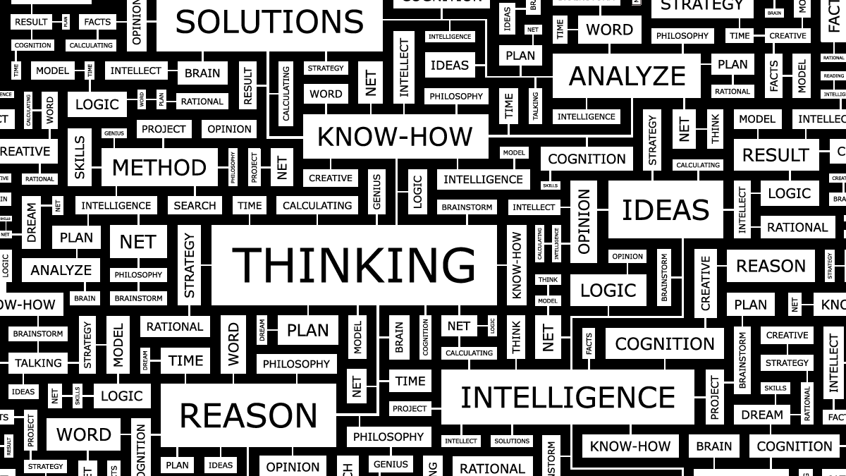 Thinking processes and cognition