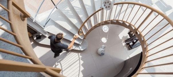Stairway illustration